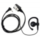 EarClip Earpiece Headset For Motorola