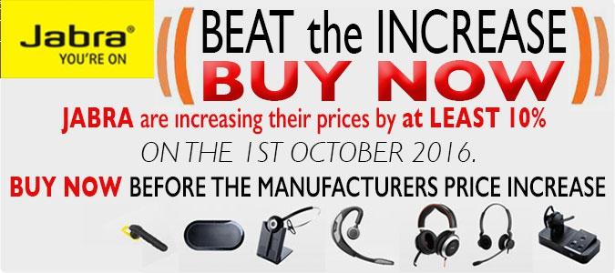 Jabra Price Increase